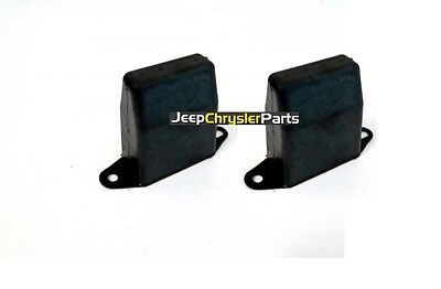 2 X REAR LEAF SPRING BUMPER 104mm FOR JEEP CHEROKEE XJ 1984-2001