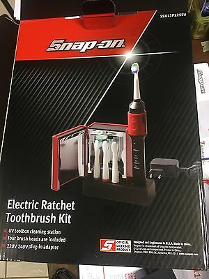 Snap On Tools Brand New Ratchet Lookalike Electric Toothbrush With Steriliser