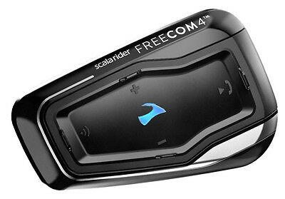 Cardo Scala Rider Freecom 4 Duo Set Motorrad-Gegensprechanlage Bluetooth