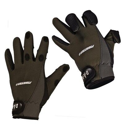 Dam Fighter-Pro Neoprene Hunting - Fishing Gloves - All Sizes