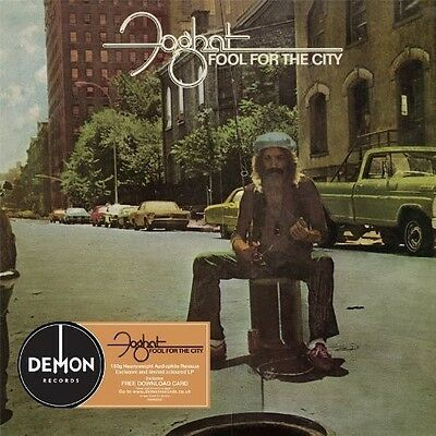FOGHAT Fool For The City 2013 UK 180g rot vinyl LP + MP3 NEW/UNGESPIELT