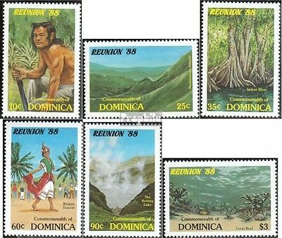 dominica 1086-1091 (complete.issue.) unmounted mint / never hinged 1988 Tourismu