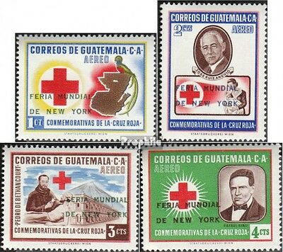 guatemala 714-717 (complete.issue.) unmounted mint / never hinged 1964 World and