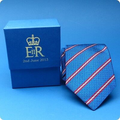 A Silk Tie Diamond Jubilee Gift From Queen Elizabeth II