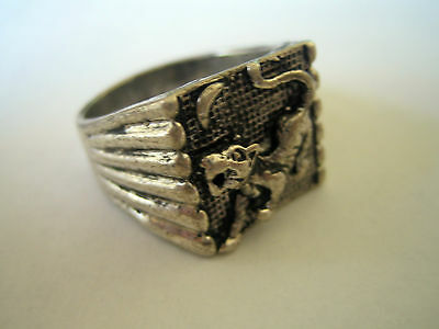New!! Vintage Tibet Silver Tiger Ring Ring, Size 10.25