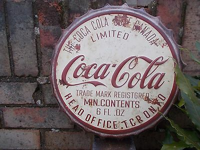 Coca Cola. Bottle Top Wall Plaque