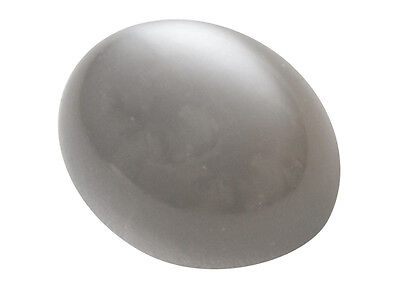 4 PIECES OF 8x6mm OVAL CABOCHON-CUT NATURAL GREY INDIAN MOONSTONE GEMS £1 NR!