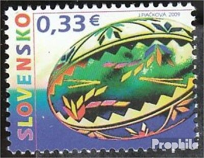 Slovakia 609 (complete.issue.) unmounted mint / never hinged 2009 Easter
