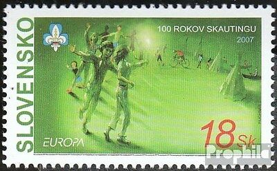 Slovakia 556 (complete.issue.) unmounted mint / never hinged 2007 Europe