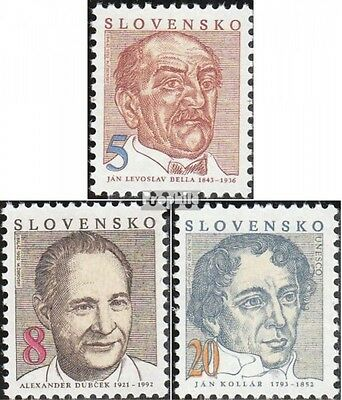 Slovakia 171-173 (complete.issue.) unmounted mint / never hinged 1993 Personalit