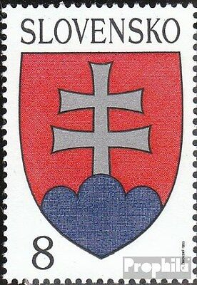 Slovakia 162 (complete.issue.) unmounted mint / never hinged 1993 Crest