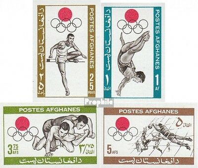 Afghanistan 923B-926B (complete.issue.) unmounted mint / never hinged 1964 Olymp
