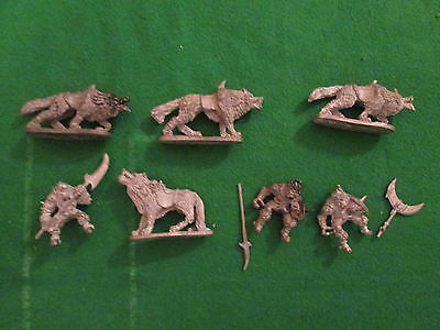 3 X N15 Chronicle Grenadier - Orc Wolf Riders - 1986 - Citadel Warhammer - L 2