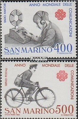 San Marino 1280-1281 (complete.issue.) unmounted mint / never hinged 1983 World