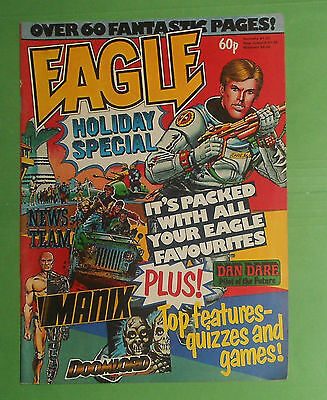 The Eagle Comic Holiday Special , 1984 , Dan Dare , Doomlord , Manix