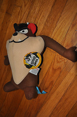 "1971 VTG 13"" Taz Tasmanian Devil Plush MIGHTY STAR Looney Tunes Cartoon"