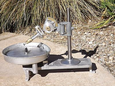 Used SAPPHIRE FACETING MACHINE * Mast *96 Index Gear * but No Motor