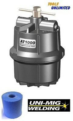 AT-1000 Compressed Air Line Cartridge Filter for Spray Painting & Plasma Cutters