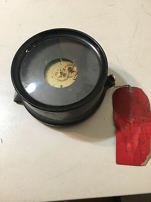 WWII Vintage Seth Thomas US Navy Mark 1 Partial Clock From USS Silenus
