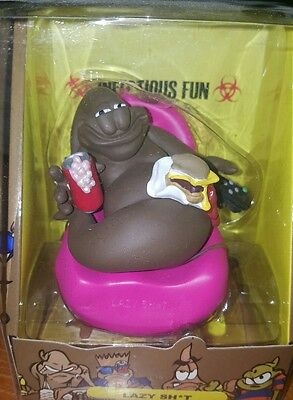 The Turds Lazy Sh*t Figurine - Infectious Fun Figure - Collectible Poop