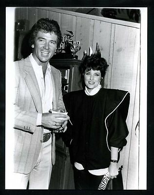 1986 Original Photo PATRICK DUFFY & MORGAN BRITTANY Dallas Step By Step gp