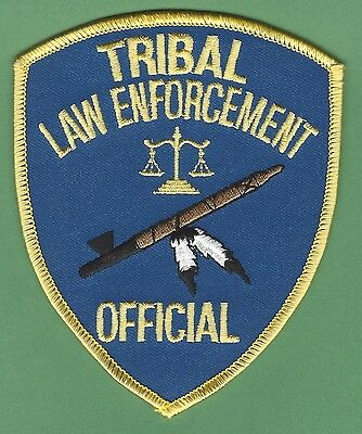 Bia Bureau Of Indian Affairs Tribal Law Enforcement Official Police Patch