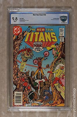 New Teen Titans (1980) (Tales of ...) Canadian Price Variant #28 CBCS 9.8
