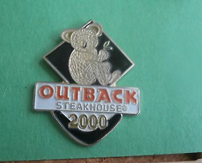 Outback Steakhouse Restaurant 2000 Koala - Lapel Pin