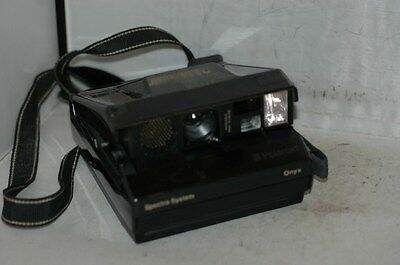Polaroid Spectra System Onyx Special Edition Clear Top  Collectors Item.