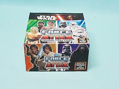 Star Wars Force Attax Erwachen der Macht 1 x Display / 50 Booster