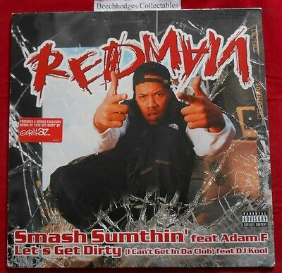 """Redman Smash Sumthin' Feat. Adam F. & Let's Get Dirty 12"""""""
