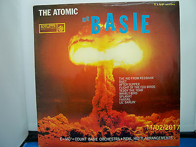 """Count Basie & His Orch.""""the Atomic Mr.basie"""" 33Rpm  L.p. Roulette  Srcp3000"""