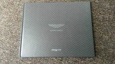 "Aston Martin DB9GT Coupe & Volante 54 pg Deluxe 2016 Brochure H'BACK 12"" X 9"""