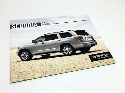 2008 Toyota Sequoia Limited Brochure