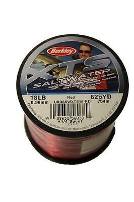 BERKLEY XTS SALTWATER RED MONO SEA FISHING LINE 4oz Spools - CLOSING DOWN SALE!!