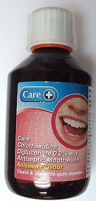 Care Aniseed Flavour Antiseptic Mouthwash 300ml