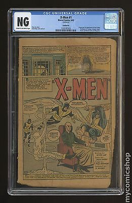 Uncanny X-Men (1963) 1st Series 1 CGC NG Coverless (1350187005)