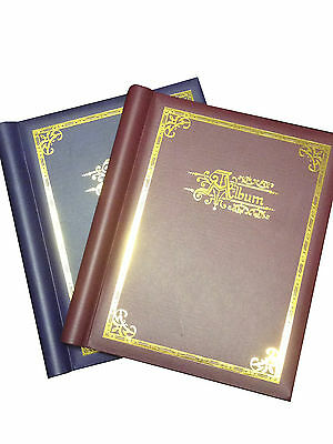 2 X Self Adhesive Large Photo Albums Totalling 40 Sheets 80 Sides Album
