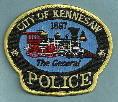 Kennesaw Georgia Police Patch Locomotive The General!