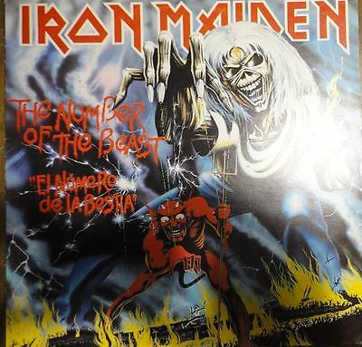 Lp. Iron Maiden - The Number Of The Beast
