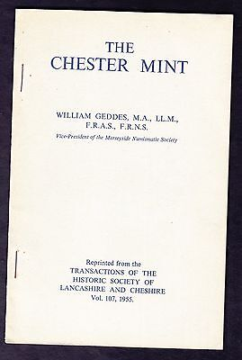 The Chester Mint by William Geddes 1955 Booklet