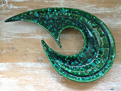 RARE Vintage 1950s Mid Century Abstract Ceramic Sculpture Signed Victoria Canada