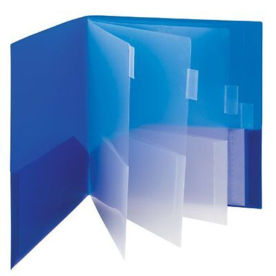 Smead Campus.org Poly Subject File Folder 10 Pockets Letter Size Assorted Colors