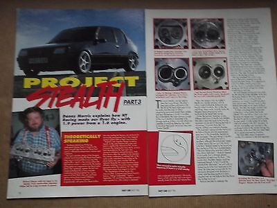 PEUGEOT 205 GTi - 1.9 POWER FROM A 1.6