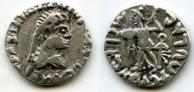 RRRRR silver drachm of King Dionysios Soter (ca.65-55 BC), Indo-Greek Kings