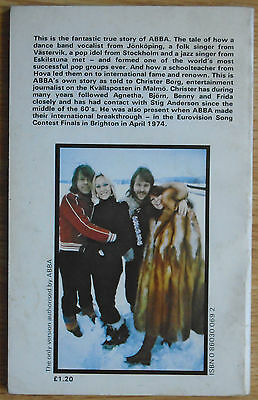Abba By Abba - As Told To Christer Borg - Authorised Paperback Book - 1977