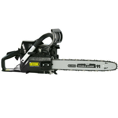 "DuroStar DS4016CS 40cc 16"" Frontiersman Gas Chainsaw w/ Oregon Bar & Chain"