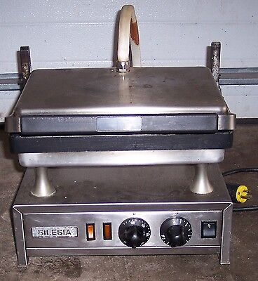 Silesia Velox T-1 Contact Panini Sandwich Grill Commercial Restaurant Food Truck