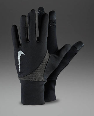 Nike Women's Running Glove Reflective Nike Dei-Fit Tailwind Running Gloves Small