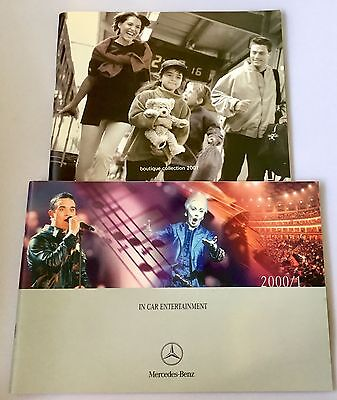 Mercedes Catalogues Year 2000